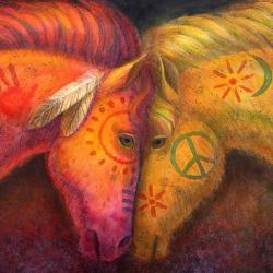 War Horse And Peace - Fine Art